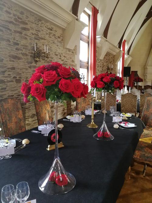 Location vase décoration mariage Nantes Loire-Atlantique