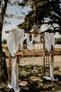 Location arche cérémonie laïque mariage Nantes Loire-Atlantique
