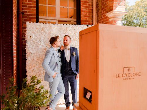 Location mur floral décor photobooth